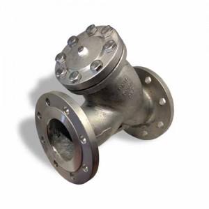 Сетчатый фильтр фланцевый стальной MSF14125