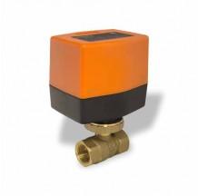 Двухходовой шаровой кран с электроприводом SMART QT3308