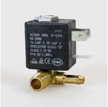 Клапан электромагнитный латунный муфтовый SMART SM33602