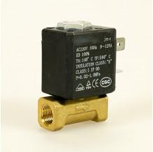 Клапан электромагнитный латунный муфтовый SMART SM33604