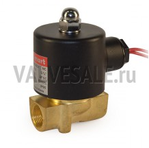 Клапан электромагнитный латунный муфтовый SMART SM33609