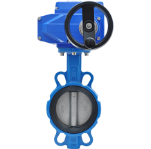 Затвор дисковый межфланцевый с электроприводом BVM-02