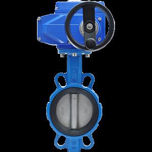 Затвор дисковый межфланцевый с электроприводом BVM02350-03
