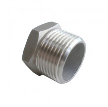 Заглушка 6-ти гранная HEX12 AISI 304