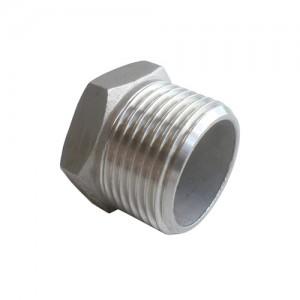 Заглушка стальная HEX22020