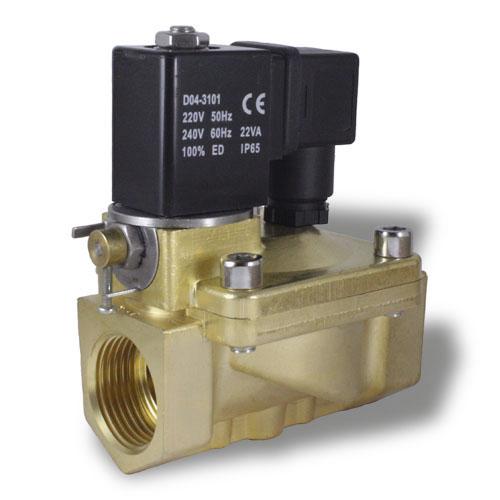 Электромагнитный клапан с ручным дублером SMART SG5533